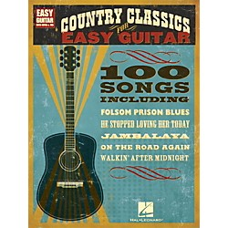 Hal Leonard Country Classics For Easy Guitar (with Tab) (702239)