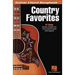 Hal Leonard Country Favorites - Guitar Chord Songbook (700609)