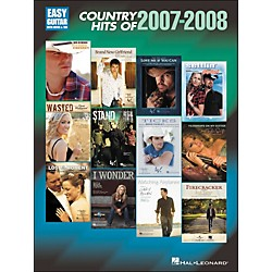 Hal Leonard Country Hits Of 2007-2008 Easy Guitar With Tab (702240)