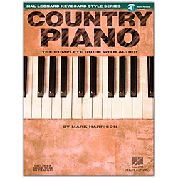Hal Leonard Country Piano Book/CD Hl Keyboard Style Series (311052)