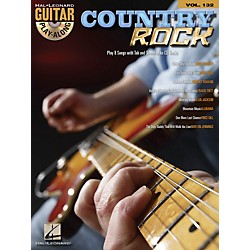 Hal Leonard Country Rock - Guitar Play-Along Volume 132 Book/CD (701757)