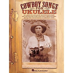 Hal Leonard Cowboy Songs For Ukulele (118589)