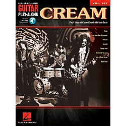 Hal Leonard Cream - Guitar Play-Along Volume 107 (Book/CD) (701069)