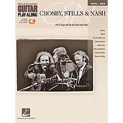 Hal Leonard Crosby Stills & Nash - Guitar Play-Along Volume 122 Book/CD (701610)