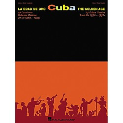 Hal Leonard Cuba La Edad De Oro - The Golden Age Piano, Vocal, Guitar Songbook (310695)