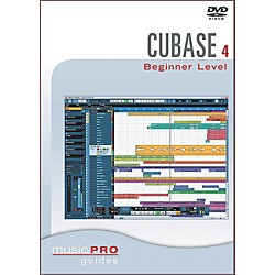 Hal Leonard Cubase SX 4.0 Beginner Level DVD Music Pro Guide Series (320669)