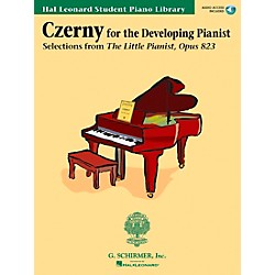 Hal Leonard Czerny - Selections From The Little Pianist Opus 823 Book/CD Hal Leonard Student Piano Library (296363)