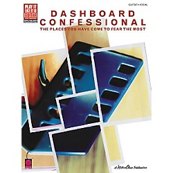 Hal Leonard Dashboard Confessional Places You Have Come to Fear the Most Guitar Tab Songbook (2500689)