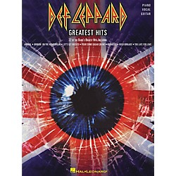 Hal Leonard Def Leppard Greatest Hits Piano, Vocal, Guitar Songbook (306786)