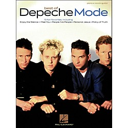 Hal Leonard Depeche Mode, Best Of arranged for piano, vocal, and guitar (P/V/G) (306843)
