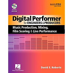 Hal Leonard Digital Performer For Engineers & Producers Book/DVD-ROM (333220)