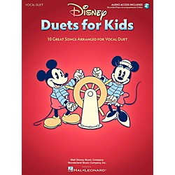 Hal Leonard Disney Duets For Kids - Two Voices And Piano Accompaniment - Book/Online Audio (124472)