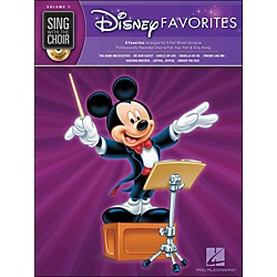 Hal Leonard Disney Favorites - Sing With The Choir Series Vol. 7 Book/CD (333007)