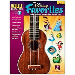Hal Leonard Disney Favorites - Ukulele Play-Along Vol. 7 Book/CD (701724)