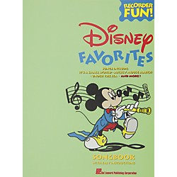 Hal Leonard Disney Favorites Recorder Songbook (710399)