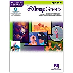 Hal Leonard Disney Greats For Oboe Book/CD Instrumental Play-Along (842078)