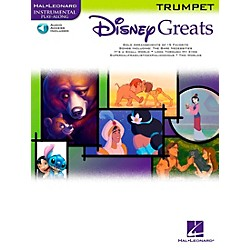 Hal Leonard Disney Greats For Trumpet Book/CD Instrumental Play-Along (841938)