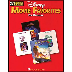 Hal Leonard Disney Movie Favorites Let's Play Recorder! (710409)