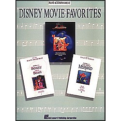 Hal Leonard Disney Movie Favorites Piano Accompaniment For Instrumental Solo Songbooks (849937)