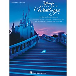 Hal Leonard Disney's Fairy Tale Weddings for Piano/Vocal/Guitar (313588)