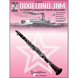 Hal Leonard Dixieland Jam - 15 Favorite Dixieland Songs For Clarinet Book/CD Pkg (385014)