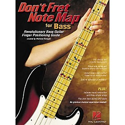 Hal Leonard Don't Fret Note Map for Bass Book (695707)