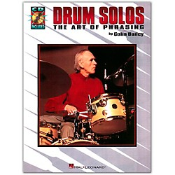 Hal Leonard Drum Solos: The Art of Phrasing Book/CD (6620021)