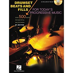 Hal Leonard Drumset Beats and Fills For Today's Progressive Music (Book/CD) (6620105)