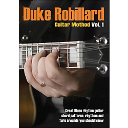 Hal Leonard Duke Robillard Guitar Method Vol 1 DVD (320941)