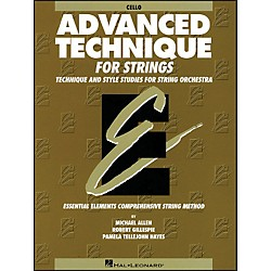 Hal Leonard EE Advanced Technique For Strings Cello (868036)