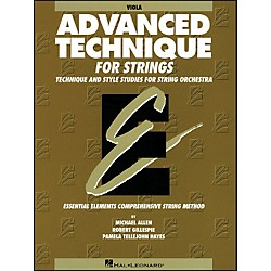 Hal Leonard EE Advanced Technique For Strings Viola (868035)