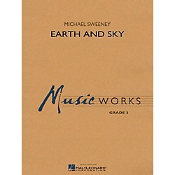Hal Leonard Earth And Sky - MusicWorks Concert Band Grade 3 (4003380)