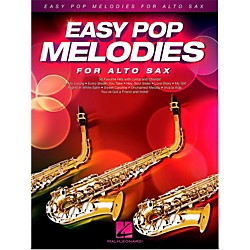 Hal Leonard Easy Pop Melodies For Alto Sax (125786)