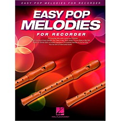 Hal Leonard Easy Pop Melodies For Recorder (125795)