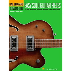 Hal Leonard Easy Solo Guitar Pieces - Hal Leonard Guitar Method Supplemental Songbook (110407)