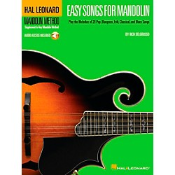 Hal Leonard Easy Songs for Mandolin Tab Book with CD Method Supplement (695866)