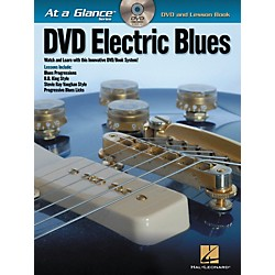 Hal Leonard Electric Blues - At A Glance (Book/DVD) (696433)