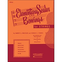 Hal Leonard Elementary Scales And Bowings - Viola (4473260)