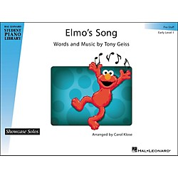 Hal Leonard Elmo's Song - Showcase Solo Early Level 1 Pre-Staff Hal Leonard Student Piano Library by Carol Klose (296770)