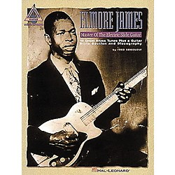 Hal Leonard Elmore James - Master of the Electric Slide Guitar (694938)