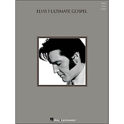 Hal Leonard Elvis - Ultimate Gospel arranged for piano, vocal, and guitar (P/V/G) (306988)