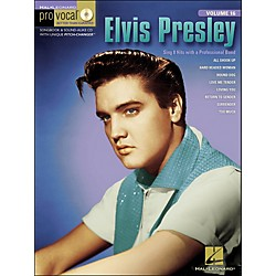Hal Leonard Elvis Presley Pro Vocal Series For Men's Edition Songbook & CD Volume 16 (740335)