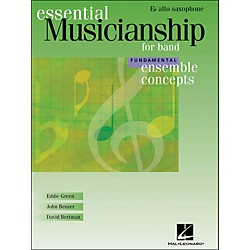 Hal Leonard Ensemble Concepts for Band - Fundamental Level Alto Sax (960117)