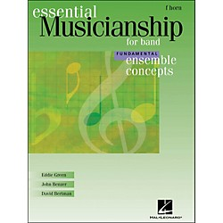 Hal Leonard Ensemble Concepts for Band - Fundamental Level French Horn (960121)