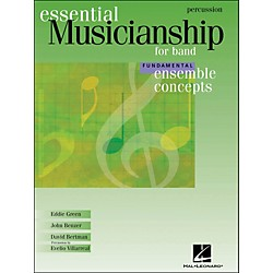 Hal Leonard Ensemble Concepts for Band - Fundamental LevelPercussion (960127)