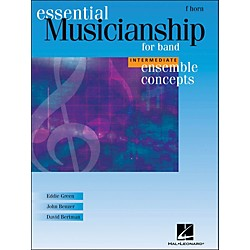 Hal Leonard Ensemble Concepts for Band - Intermediate Level French Horn (960140)