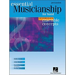 Hal Leonard Ensemble Concepts for Band - Intermediate Level Percussion (960146)