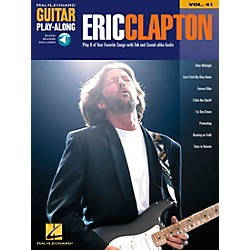 Hal Leonard Eric Clapton Guitar Play-Along Series Book with CD Vol. 41 (699669)