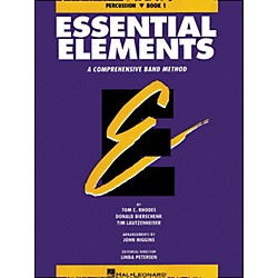 Hal Leonard Essential Elements Book 1 Percussion (863516)