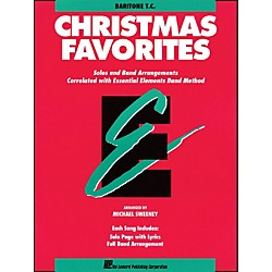 Hal Leonard Essential Elements Christmas Favorites Baritone T.C. (862513)